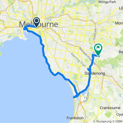 South Melb to Rowville