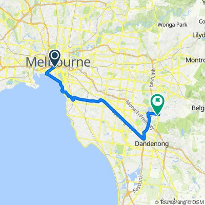 South Melbourne to Rowville short
