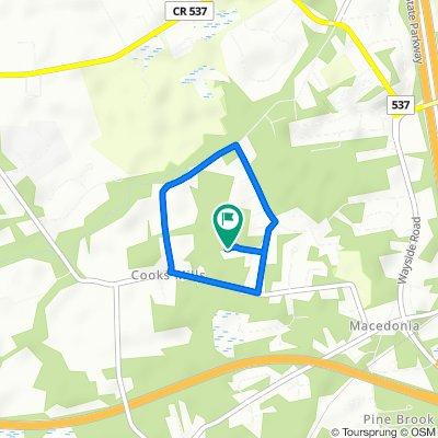 Mary run loop  (2 loops = 3.8 mi)