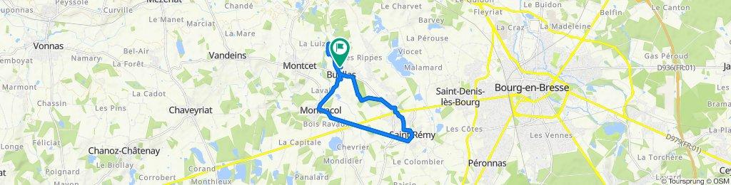 Itinéraire reposant en Buellas