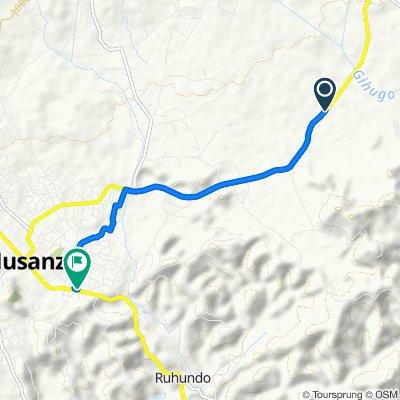 RN8 to Kigali - Ruhengeri Road