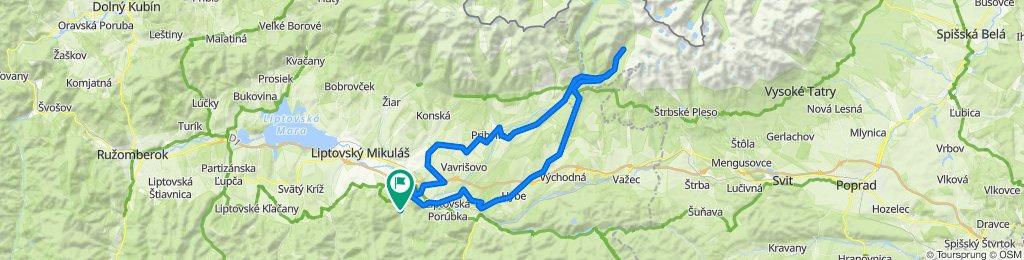 Trasa/Route 43 | mtbliptov.bike