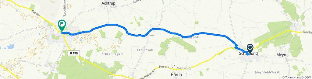 K79 12, Schafflund nach Norderbergstraße 7, Leck