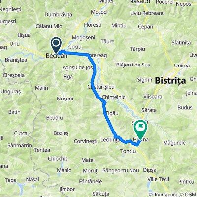Strada Petru Maior 3, Beclean to DN15A 112, Herina