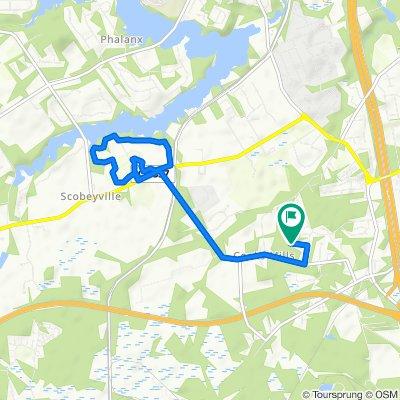 7 mi NJ run from Mary to park