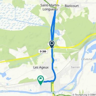 De Rue de Flandre 51, Les Ageux à Rue Ampère 36, Pont-Sainte-Maxence