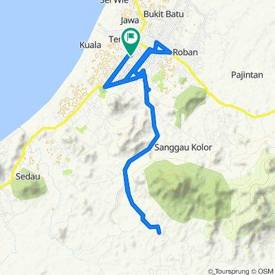 Supersonic route in Kota Singkawang