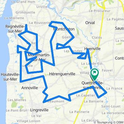 De Rue de la Sienne 19, Quettreville-sur-Sienne à Rue de la Sienne 23, Quettreville-sur-Sienne