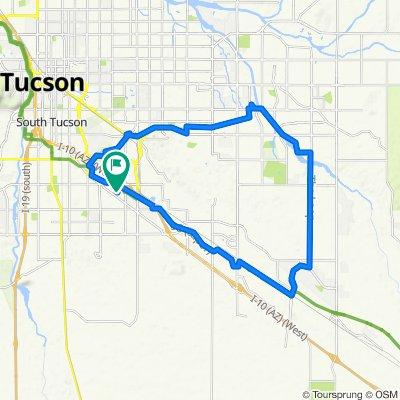 Tucson The Loop -Aviation Way Tour