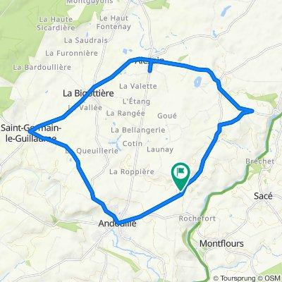 Visite rapide en Andouillé