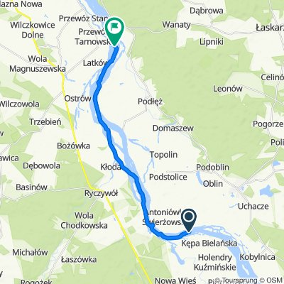 Moderate route in Magnuszew