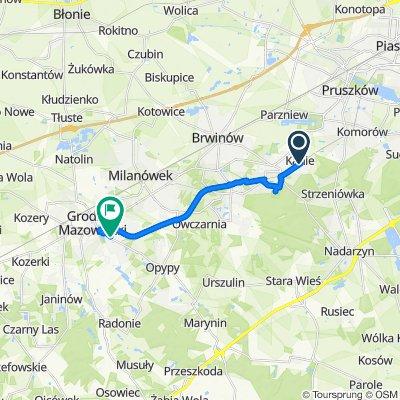 Józefa Piłsudskiego 13, Kanie do Baśniowa 27, Grodzisk Mazowiecki