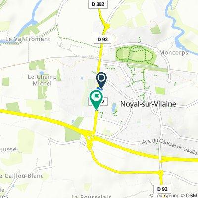 Easy ride in Noyal-sur-Vilaine