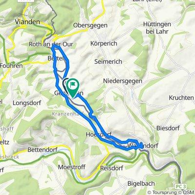 Entspannende Route in Gentingen