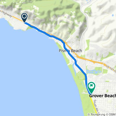 Supersonic route in Grover Beach