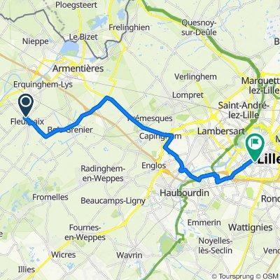 Route stable en Lille