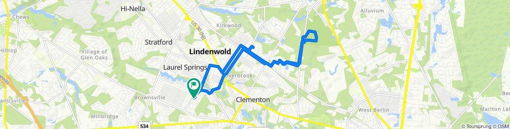 21 Timber Ridge, Lindenwold to 801 W Park Ave, Lindenwold