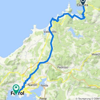 Cedeira-Valdoviño-Ferrol