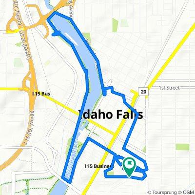 West 14th Street 226, Idaho Falls to West 14th Street 226, Idaho Falls