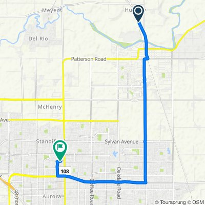 23245–23345 Santa Fe Rd, Escalon to 301 Fleetwood Dr, Modesto
