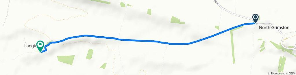 Route from Hogg Lane, Malton