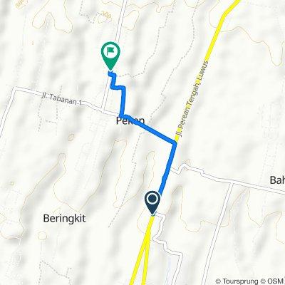 Easy ride in Tabanan