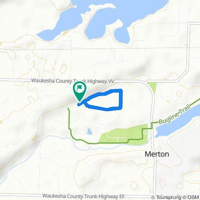 N74W28936 Coldstream Ct, Merton to N74W28914 Coldstream Ct, Merton