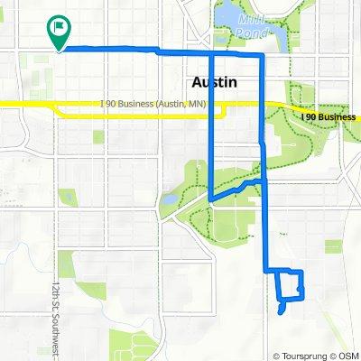 Slow ride in Austin