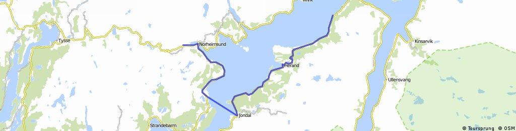 Norwegen 1998 Etappe 21