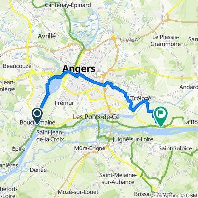 Angers - La Daguenière La Loire à vélo