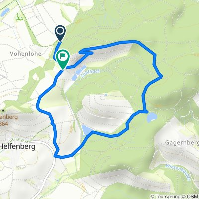 Helfenberg: Burgentour
