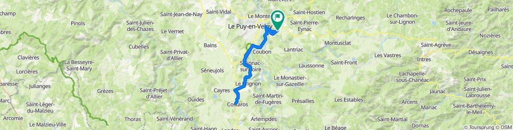 De 3 Impasse de Coste Sourde, Saint-Germain-Laprade à 3 Impasse de Coste Sourde, Saint-Germain-Laprade