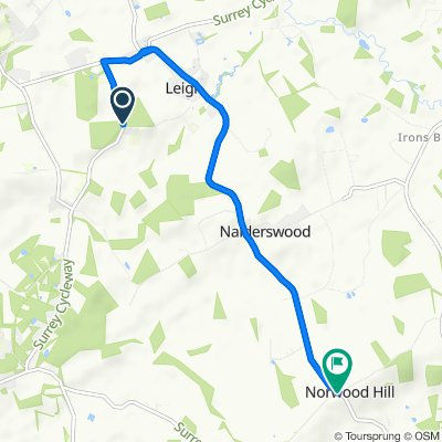 Clayhill Road, Leigh to Norwood Hill