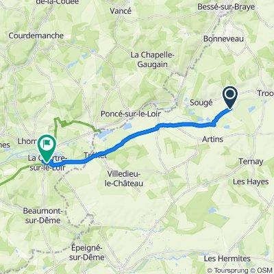 De Le Chapitre, Troo à 3 Rue de l'Hôtel de Ville, La Chartre-sur-le-Loir