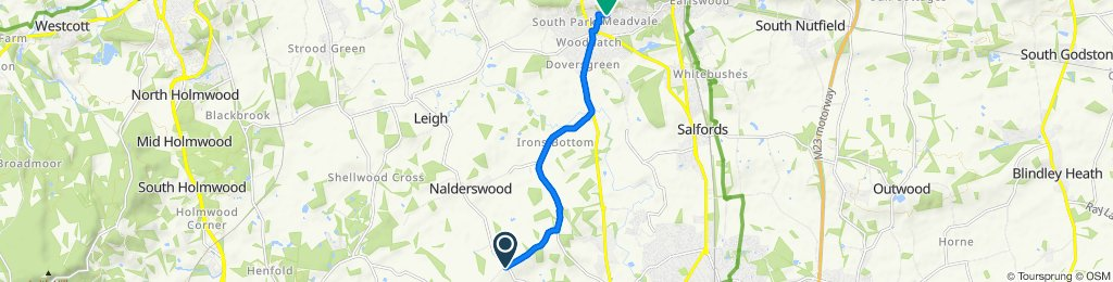 Norwood Hill to Blackthorn Road 9