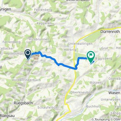 Entspannende Route in Dürrenrothwasen