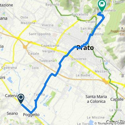 Percorso riposante in Prato