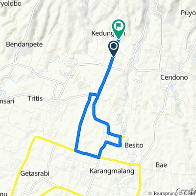Relaxed route in Gebog