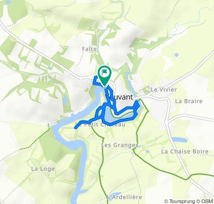 Route stable en Vouvant