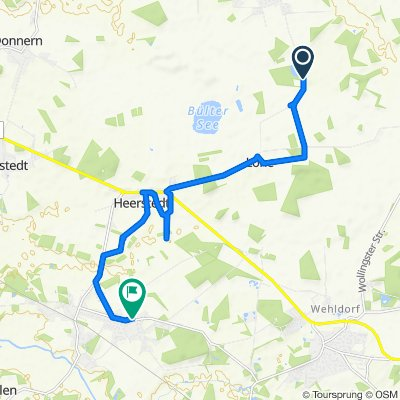 Restful route in Beverstedt