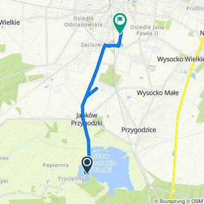 Wodna 3 do Wrocławska 150, Ostrów Wielkopolski