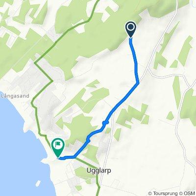 Slow ride in Ugglarp