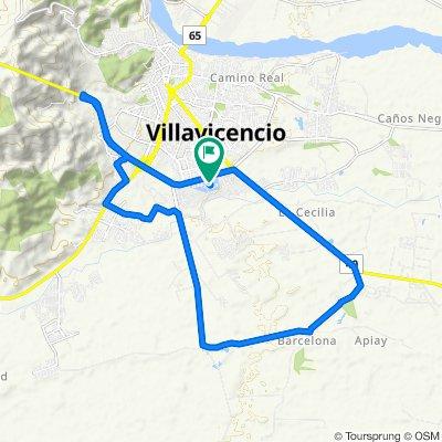 Steady ride in Villavicencio