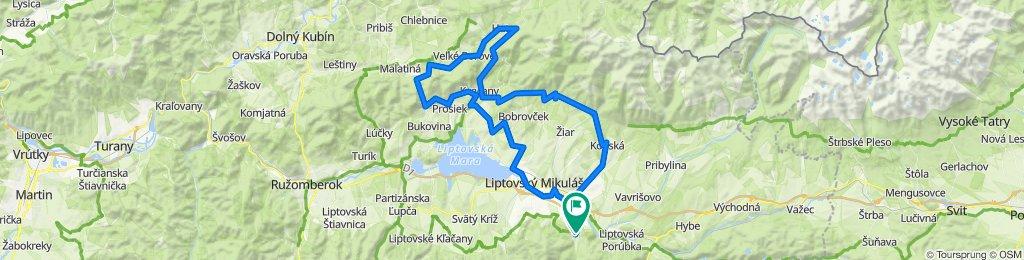 Trasa/Route 45 | mtbliptov.bike