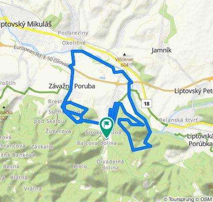 Trasa/Route 47 | mtbliptov.bike