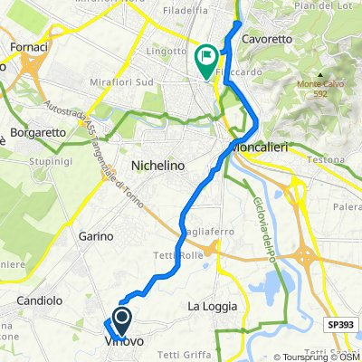 Easy ride in Torino