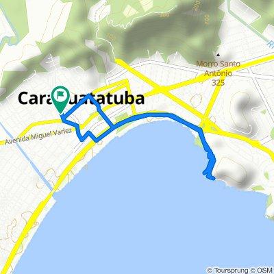 De Rua Camaroeiro, 82, Caraguatatuba a Rua Camaroeiro, 81, Caraguatatuba