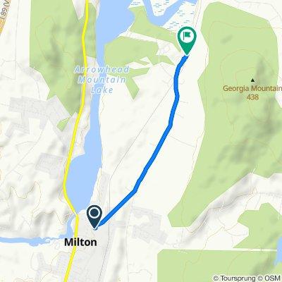 41 Main St, Milton to 542 North Rd, Milton