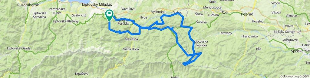 Trasa/Route 50   mtbliptov.bike