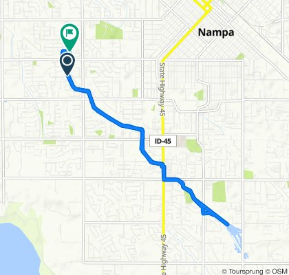 406 S Middlecreek Dr, Nampa to 1219 W Eagle Ave, Nampa